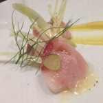 HAMACH - yellowtail, fennel, lemon